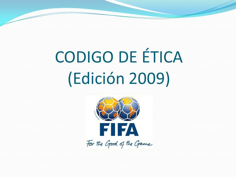 CODIGO DE ÉTICA (Edición 2009)