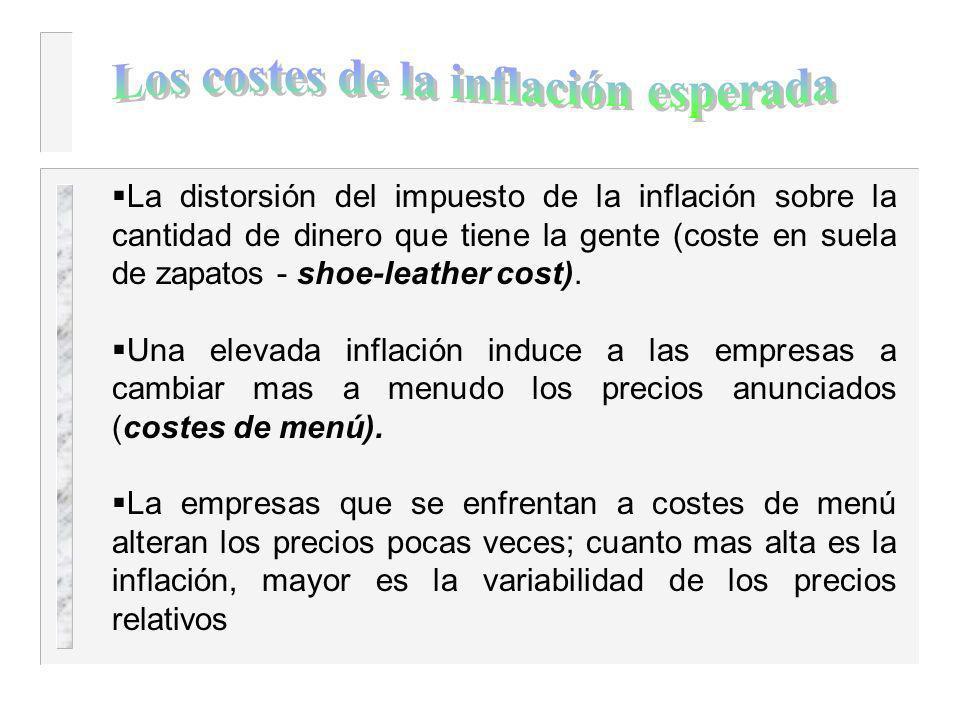 Por que es un problema social la inflación? La respuesta de una persona media: porque le empobrece. Cap. 3, 4, 5 – los aumentos del poder adquisitivo