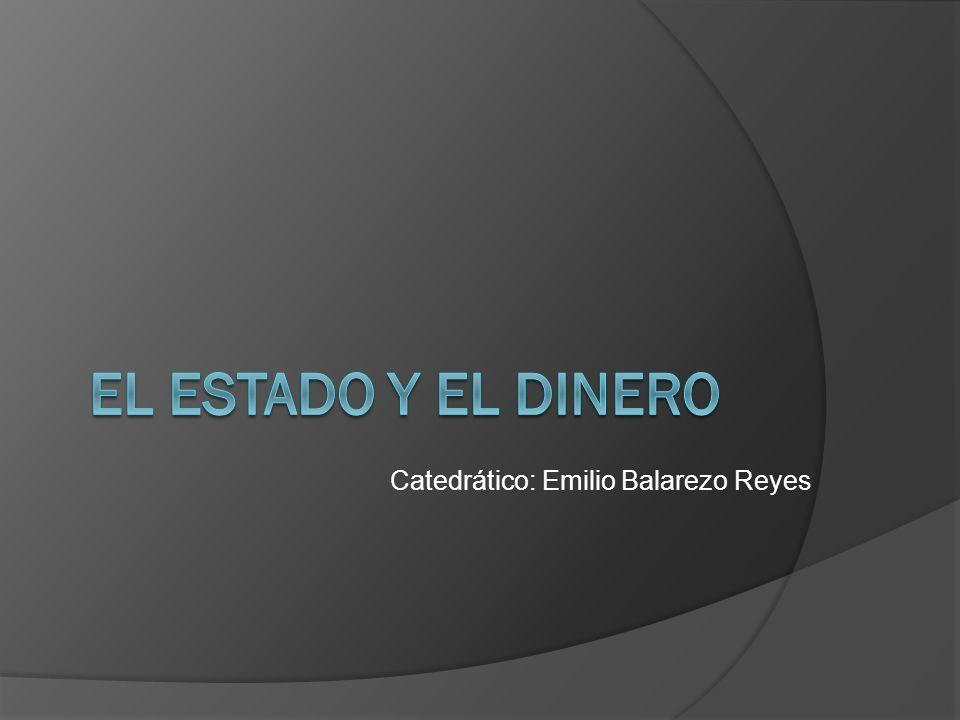 Catedrático: Emilio Balarezo Reyes
