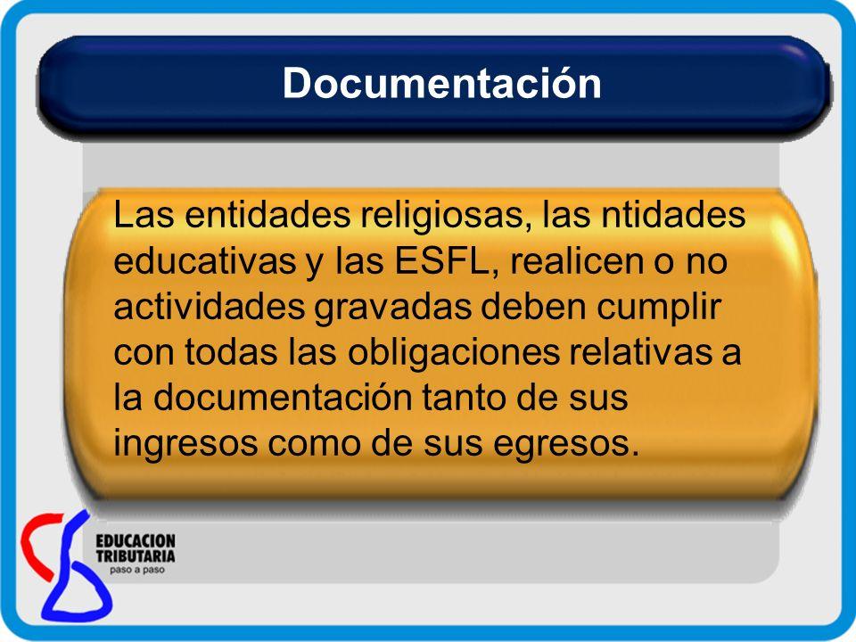 Facturas: En las mismas se documentan todo tipo de ingresos (gravados o exentos) salvo los provenientes de donaciones y colectas públicas.