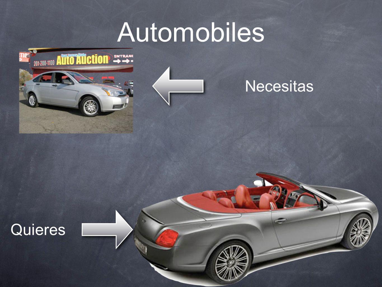 Automobiles Necesitas Quieres