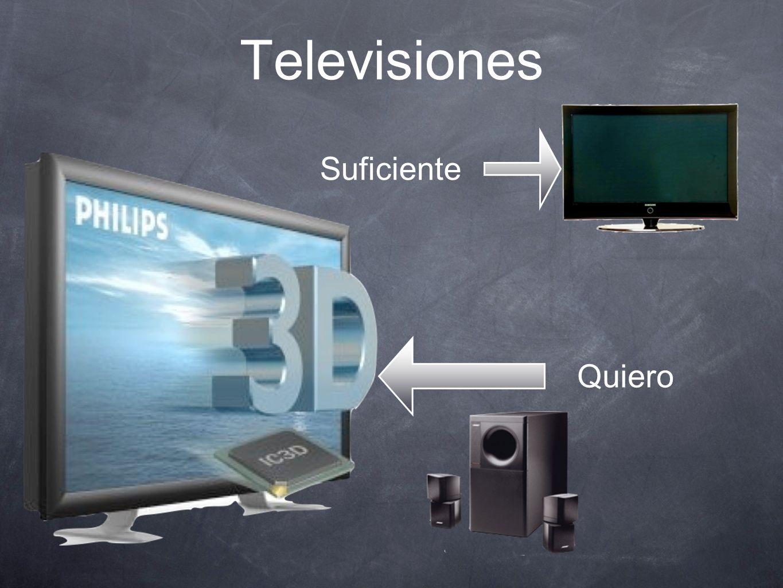 Televisiones Suficiente Quiero