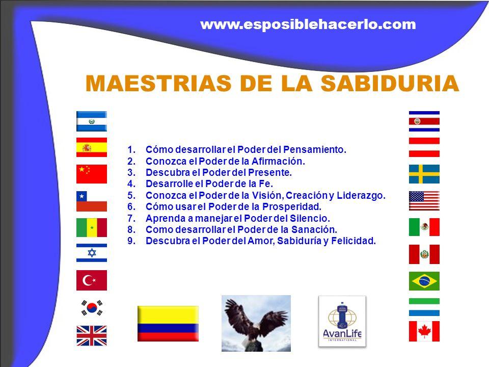 MAESTRIAS DE LA SABIDURIA 1.Cómo desarrollar el Poder del Pensamiento.
