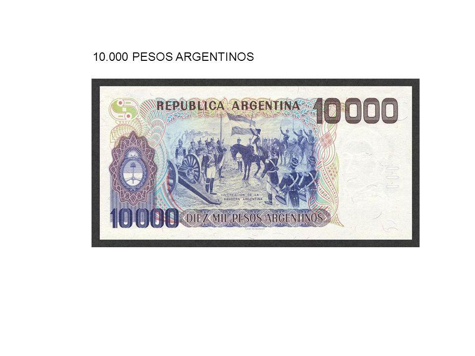 10.000 PESOS ARGENTINOS