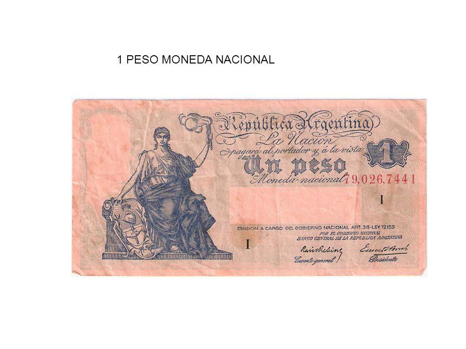 VEINTE CENTAVOS MONEDA NACIONAL – AÑO 1891