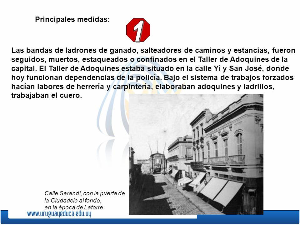 En reemplazo de Santos fue designado el General Máximo Tajes.