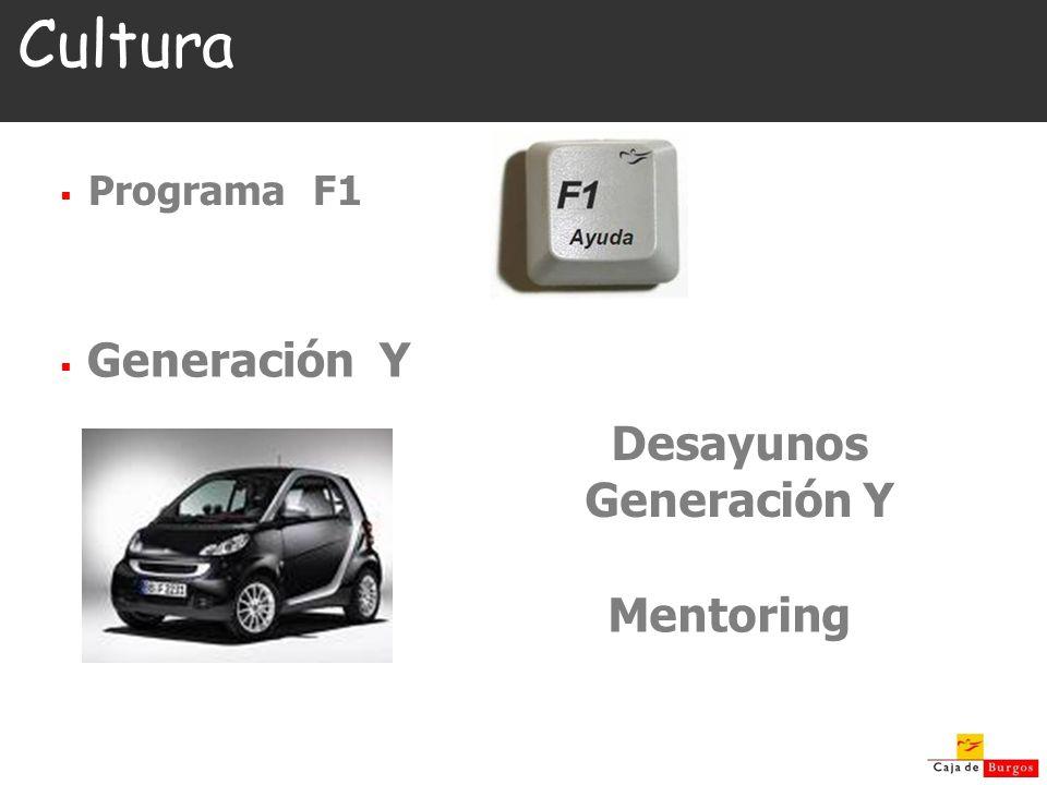 Cultura Programa F1 Generación Y Desayunos Generación Y Mentoring