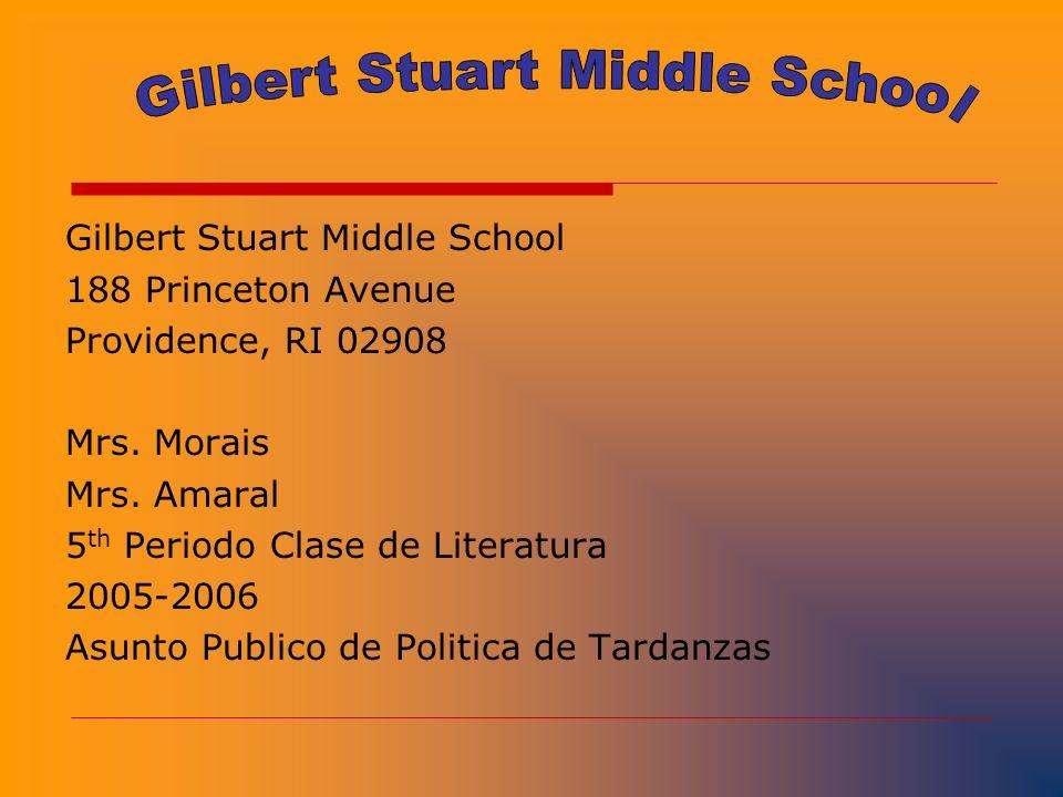 GILBERT STUART ESCUELA SECUNDARIA EDUCACION CIVICA PROYECTO CIUDADANO