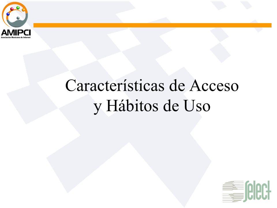 Características de Acceso y Hábitos de Uso