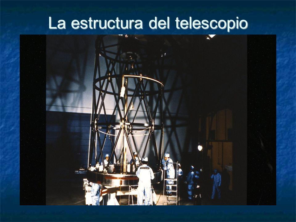 La estructura del telescopio