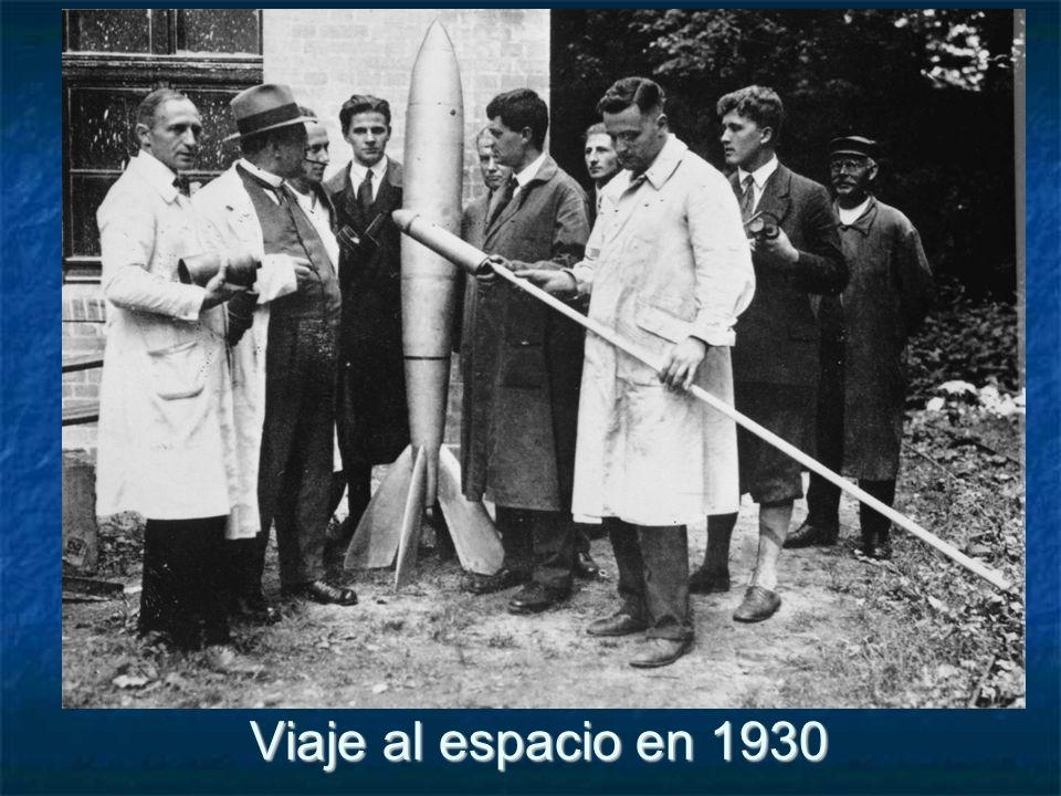 Viaje al espacio en 1930