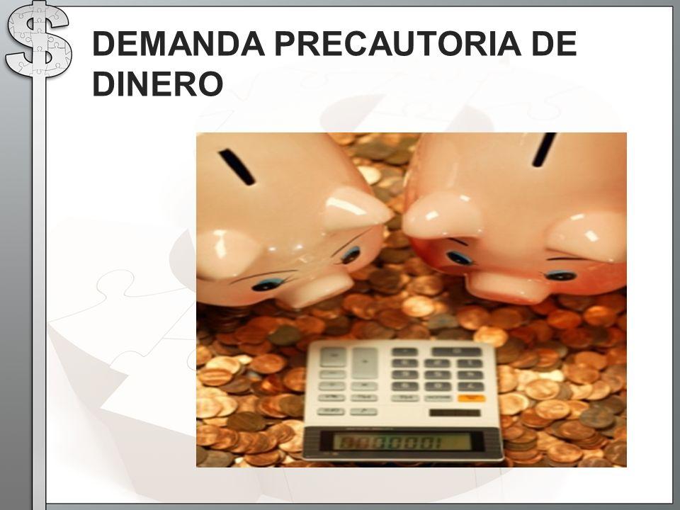 DEMANDA PRECAUTORIA DE DINERO