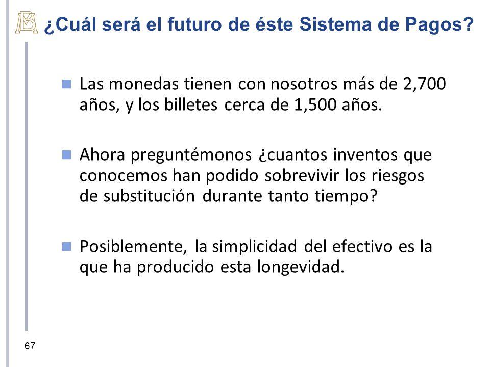 ¿Cuál será el futuro de éste Sistema de Pagos.