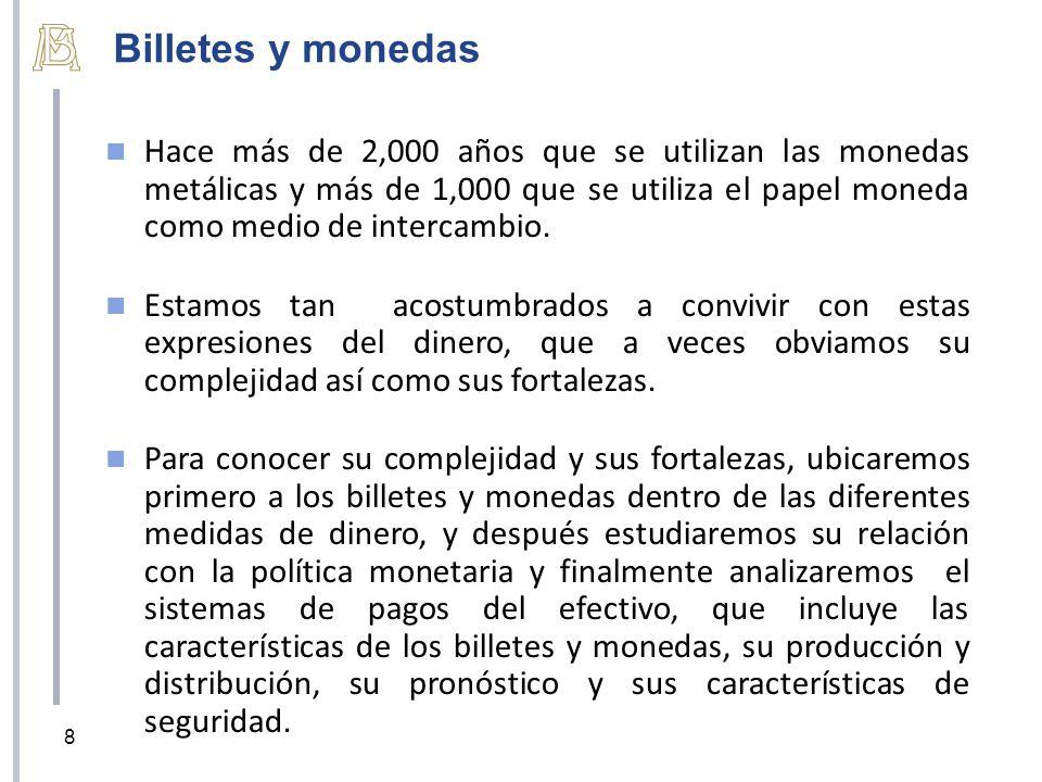 CLASIFICACIÓN DE LOS BILLETES Y MONEDAS COMO DINERO 9