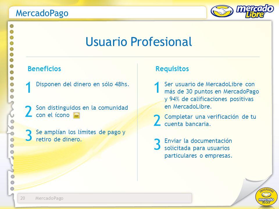 MercadoPago 21 Ofreces financiamiento y más medios de pago a tus compradores.