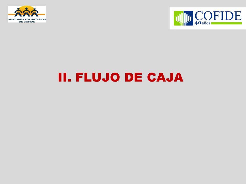 II. FLUJO DE CAJA