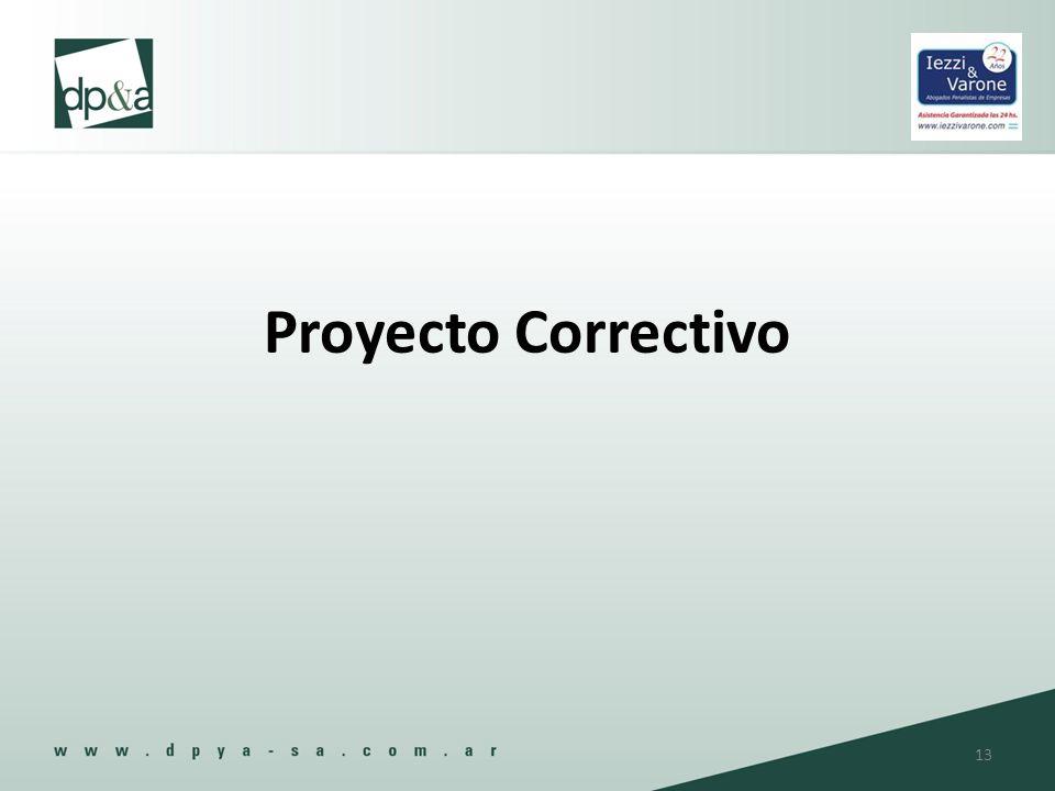 Proyecto Correctivo 13