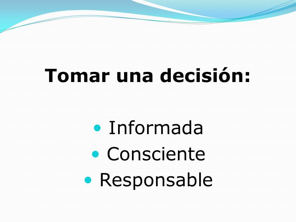 Cuáles deberían ser los criterios más adecuados para tomar una decisión tan importante como ésta?