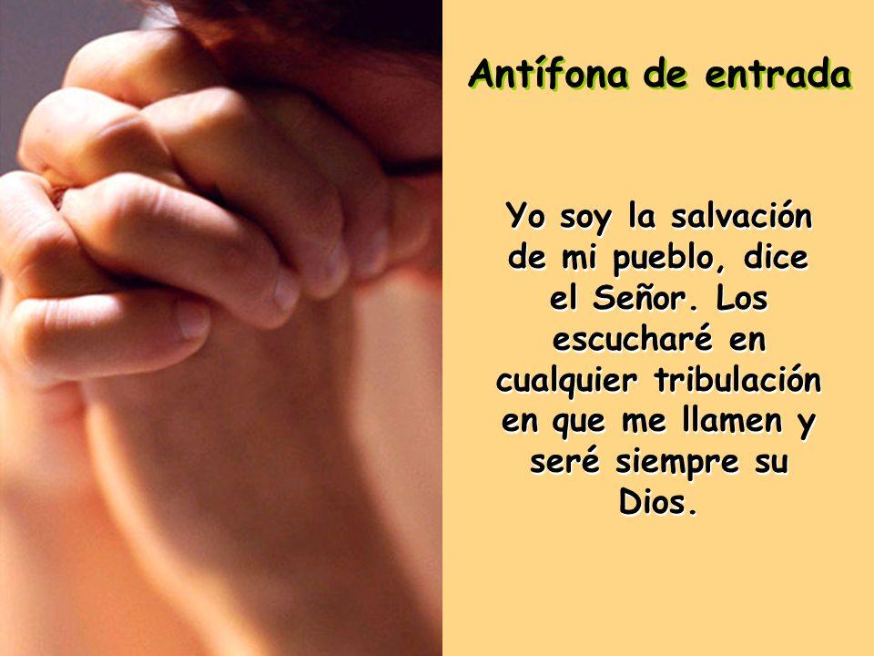 Les anuncio el Evangelio de nuestro Señor Jesucristo según San Lucas.