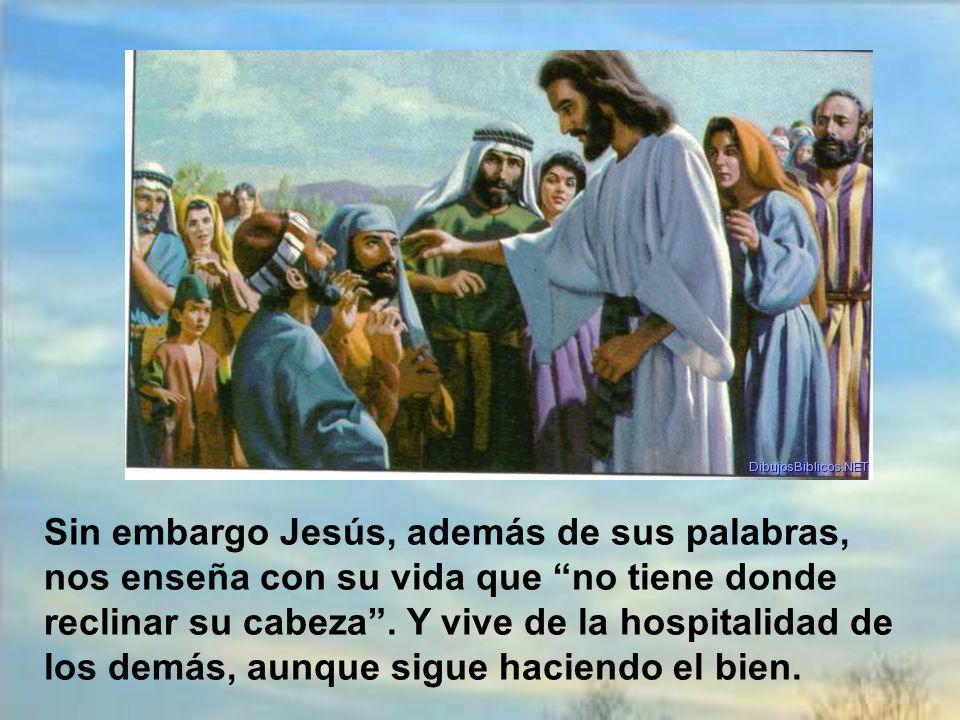 Los apóstoles se espantaron. Y fue sobre todo porque la proposición de Jesús no entraba en la mentalidad judía. La tradición les decía que las riqueza
