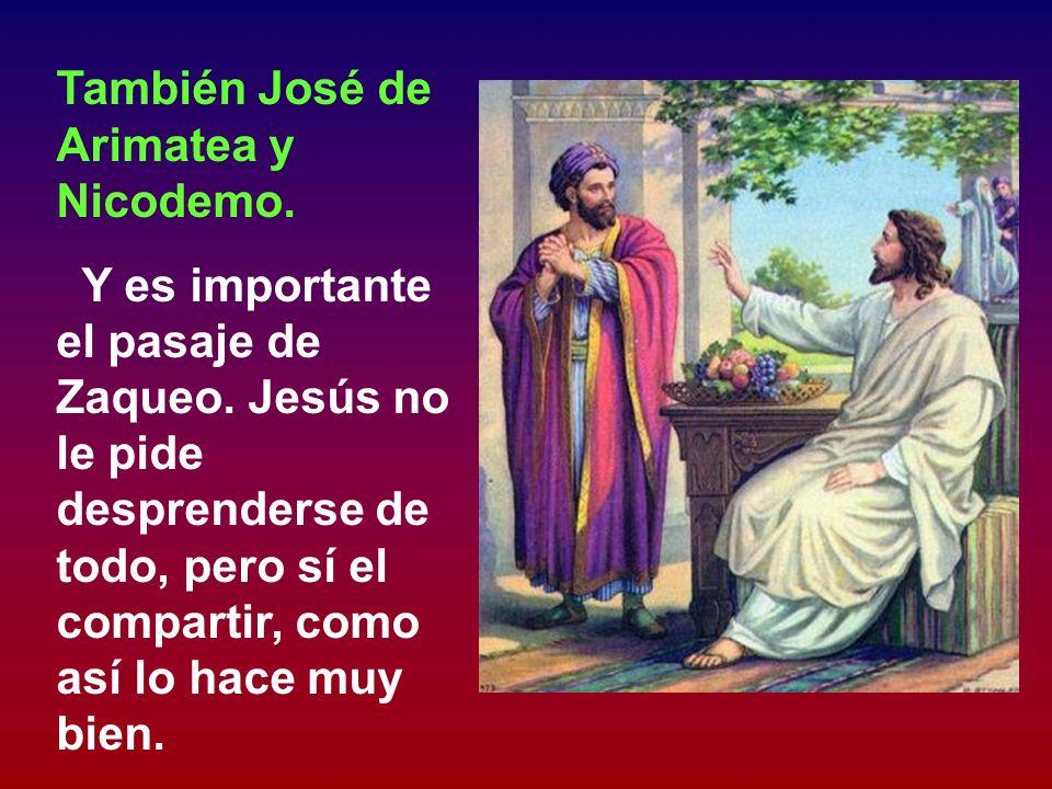 En el Evangelio aparece a veces el Jesús radical y a veces el Jesús moderado. Moderado aparece cuando se le ve como amigo de algunos medio ricos, como