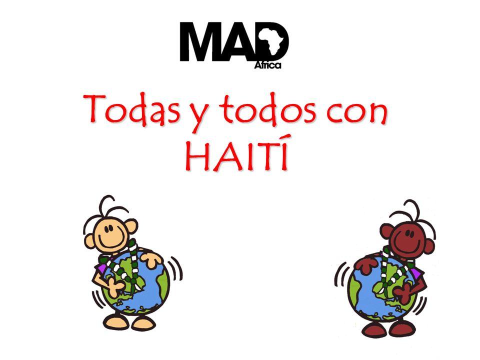 Todas y todos con HAITÍ