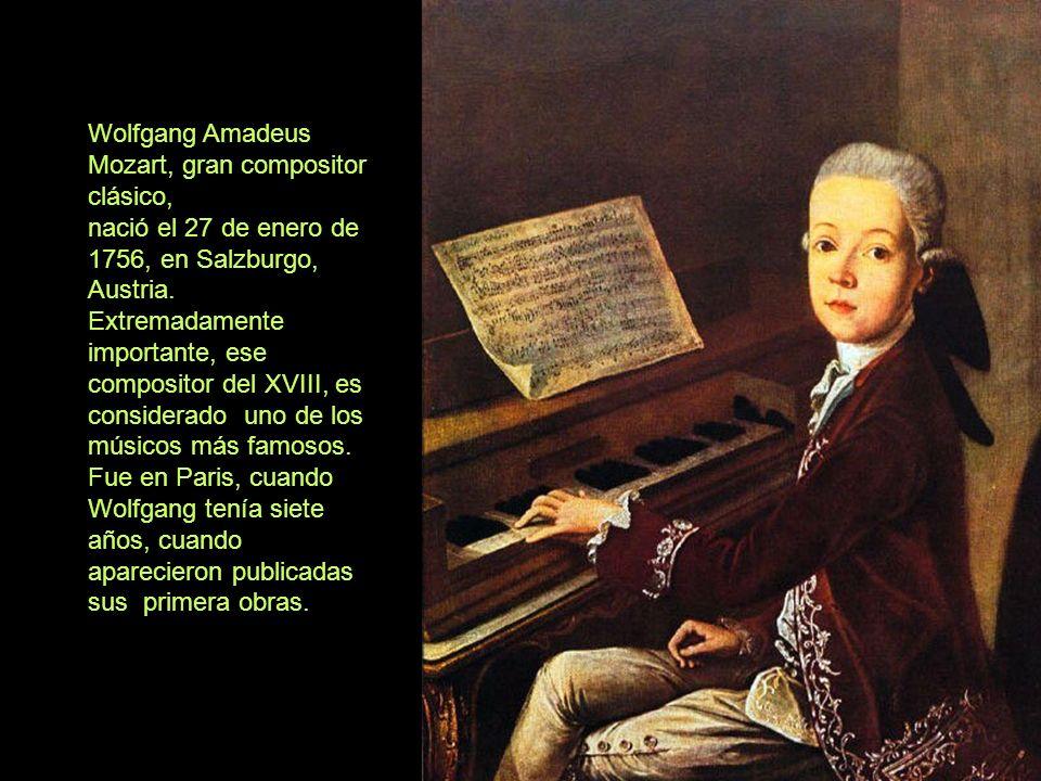 Mozart y su perro fiel