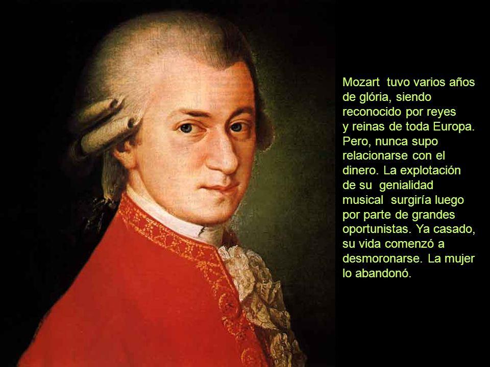 Wolfgang Amadeus Mozart, gran compositor clásico, nació el 27 de enero de 1756, en Salzburgo, Austria. Extremadamente importante, ese compositor del X