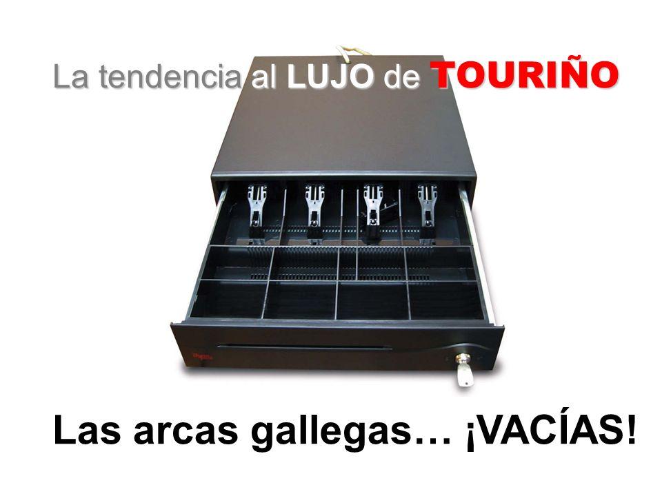 La tendencia al LUJO de TOURIÑO Las arcas gallegas… ¡VACÍAS!