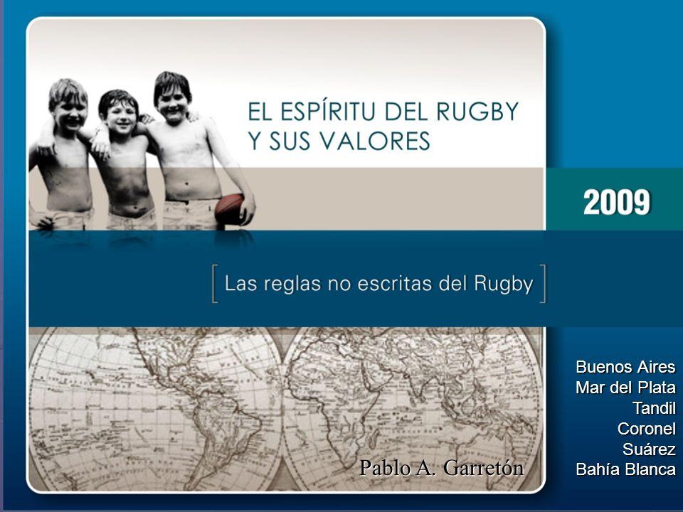 El rugby es un deporte de villanos, jugado por caballeros… El futbol es un deporte de caballeros, El futbol es un deporte de caballeros, jugado por villanos…
