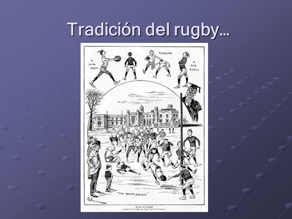 Rugby Football Union - 1871 EspírituJuego (opinable) (NO opinable)