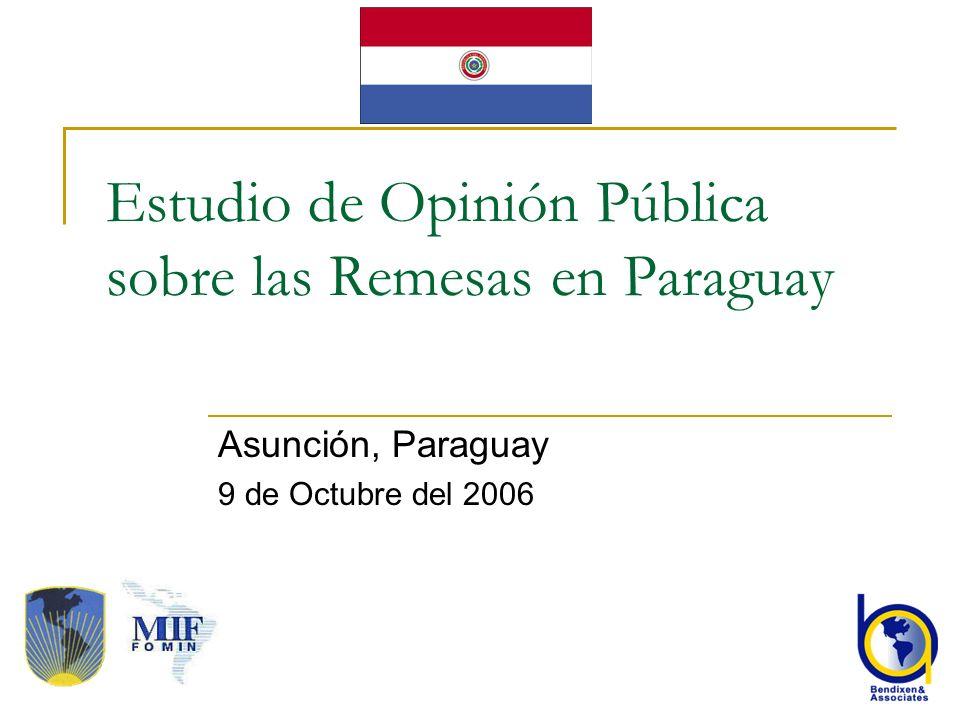 2 Metodología La encuesta es de 3.377 entrevistas realizadas en Agosto y Septiembre del 2006.