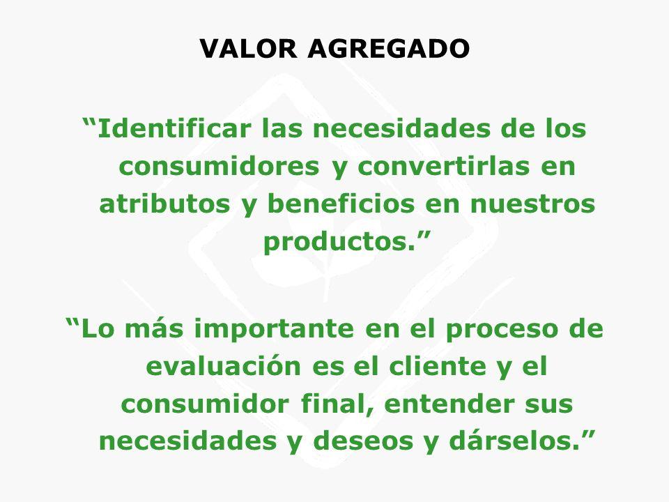CAMBIOS TECNOLÓGICOS PREVISIBLES PARA EL SECTOR Desde el punto de vista de la materia prima Especialización de la agricultura.