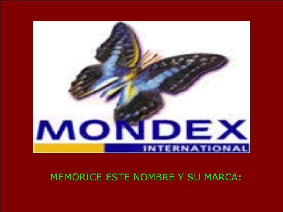 MEMORICE ESTE NOMBRE Y SU MARCA: