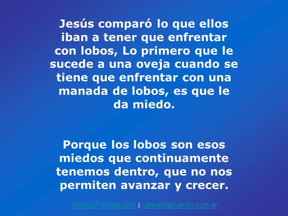 Jesús comparó lo que ellos iban a tener que enfrentar con lobos, Lo primero que le sucede a una oveja cuando se tiene que enfrentar con una manada de