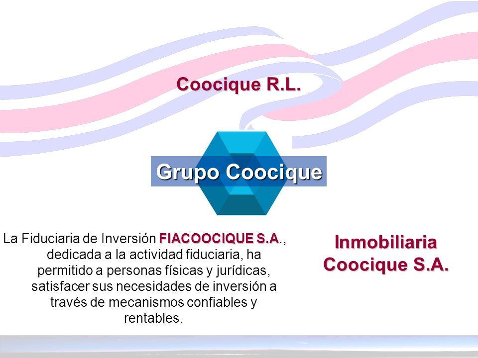 FIACOOCIQUE S.A La Fiduciaria de Inversión FIACOOCIQUE S.A., dedicada a la actividad fiduciaria, ha permitido a personas físicas y jurídicas, satisfac