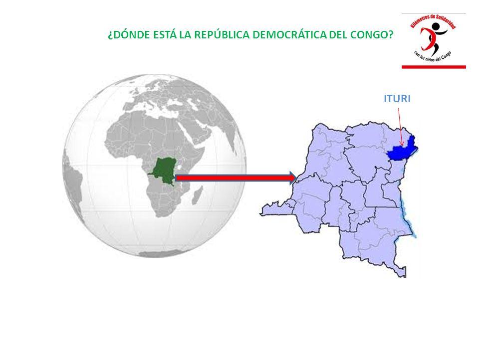 ¿DÓNDE ESTÁ LA REPÚBLICA DEMOCRÁTICA DEL CONGO ITURI