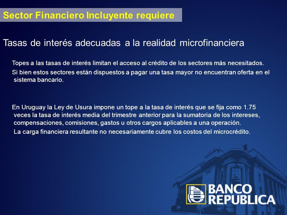 MIPYMES CND COOPERATIVAS COOPERATIVAS CERRADAS BANCOS PRIVADOS FUNDACIONES BROU Instituciones de financiamiento en Uruguay