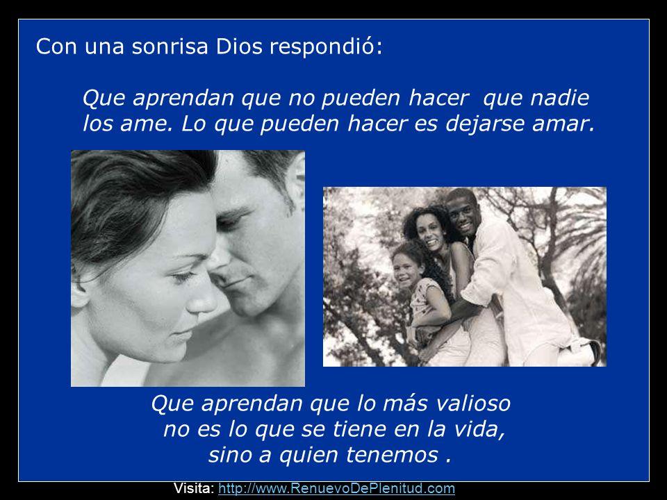 Enseguida, la mano de Dios aseguró la mia y por un instante quedamos en silencio...