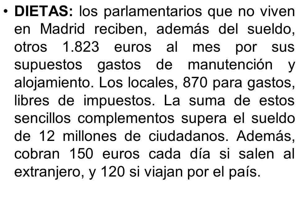 PROSTITUTAS: el concejal de Palma de Mallorca, Rodrigo de Santos (P.P.), gastó más de 50.000 euros en prostitutos y bares de ambiente. En Estepona, va