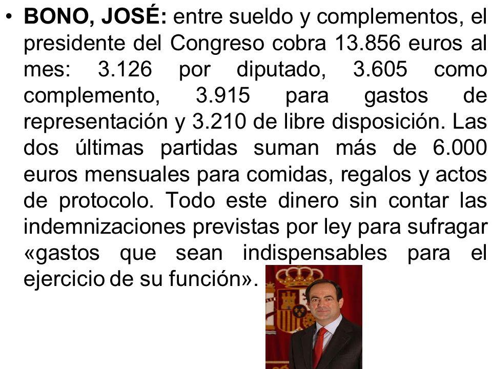 GUERRA REINA, ALFONSO: hijo del ex vicepresidente del Gobierno, Alfonso Guerra. Fue elegido a dedo como asistente del vicepresidente del Parlamento Eu