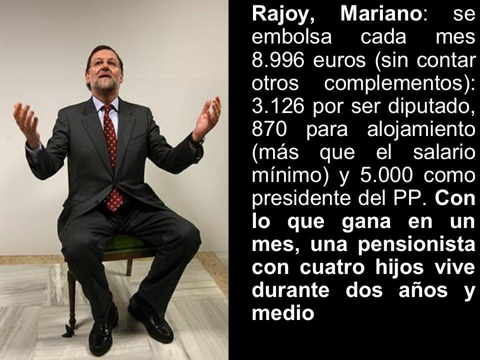 Jubilado de oro: tras abandonar el FMI, Rodrigo Rato regresó a España con una pensión vitalicia de 80.000 dólares anuales. Sumados al sueldo de ex min