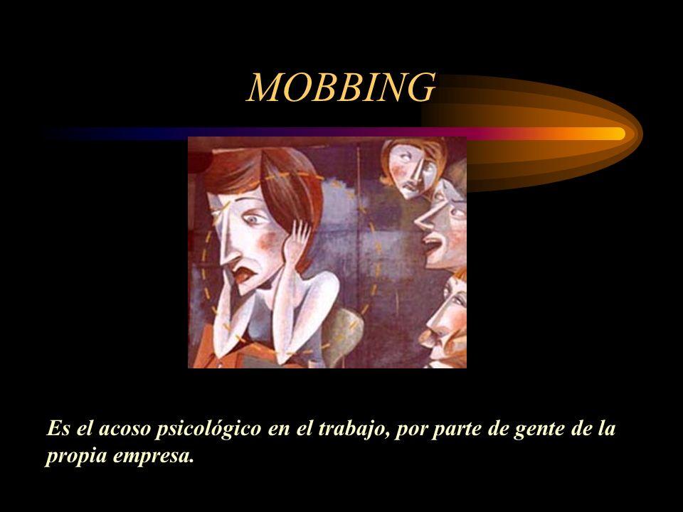 ¿ Y si no motivamos...qué? Se encuentran diversos problemas cuando no se motiva correctamente a los trabajadores Mobbing Stress