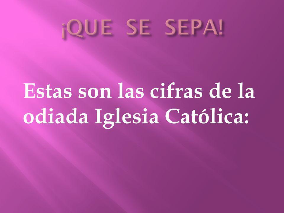 Muy pocos conocen este maravilloso trabajo hacia la ciudadanía española de la Iglesia Católica, que le sale tan provechoso al estado español.