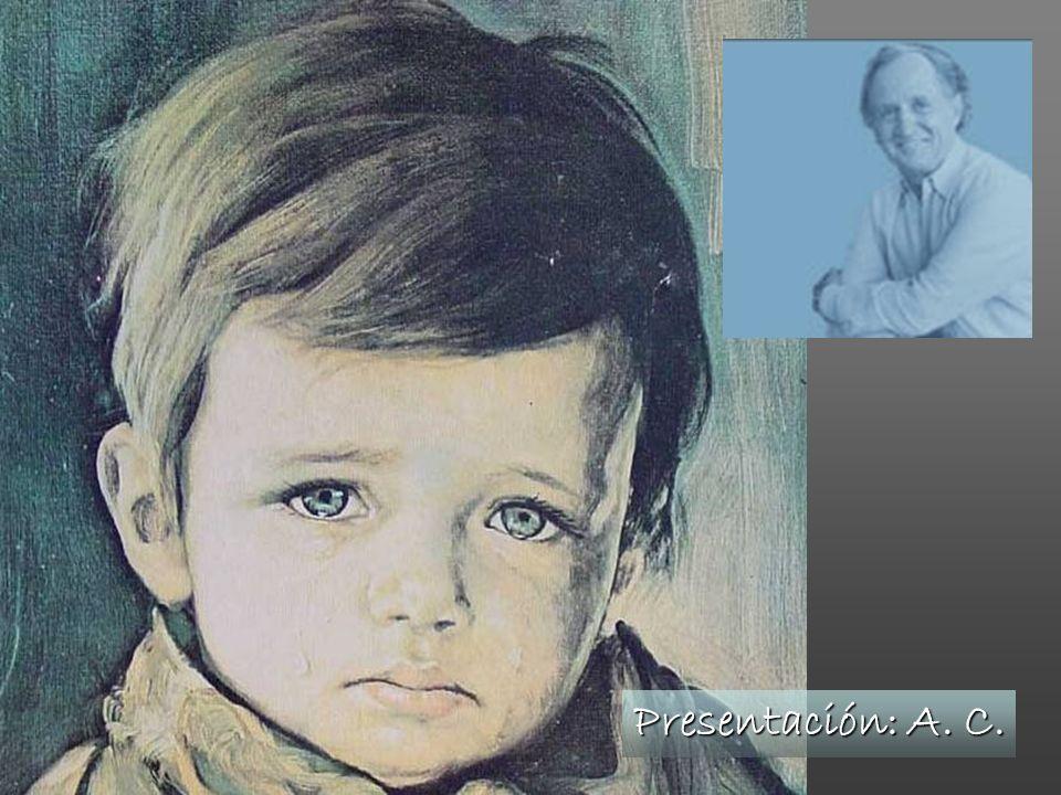 Capecchi siempre sonríe.Dejó atrás una infancia dura.