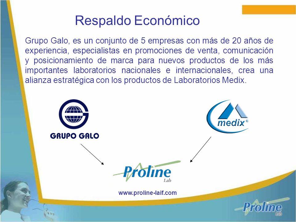 Grupo Galo, es un conjunto de 5 empresas con más de 20 años de experiencia, especialistas en promociones de venta, comunicación y posicionamiento de marca para nuevos productos de los más importantes laboratorios nacionales e internacionales, crea una alianza estratégica con los productos de Laboratorios Medix.