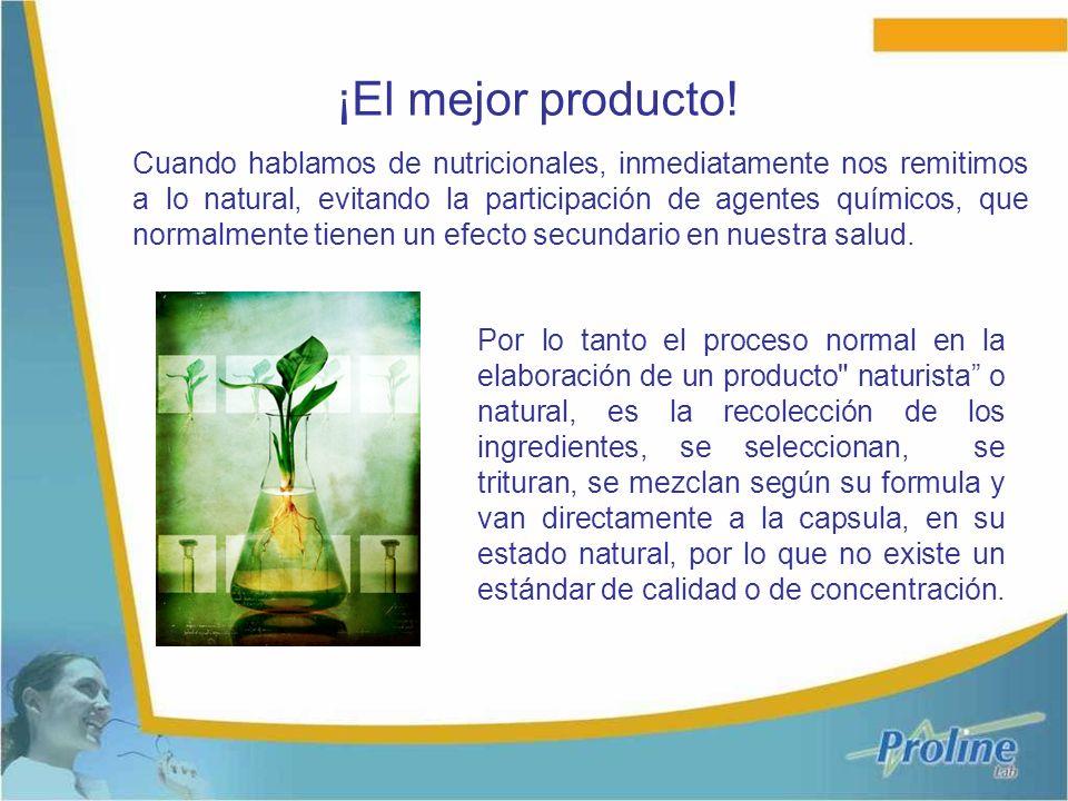 Cuando hablamos de nutricionales, inmediatamente nos remitimos a lo natural, evitando la participación de agentes químicos, que normalmente tienen un