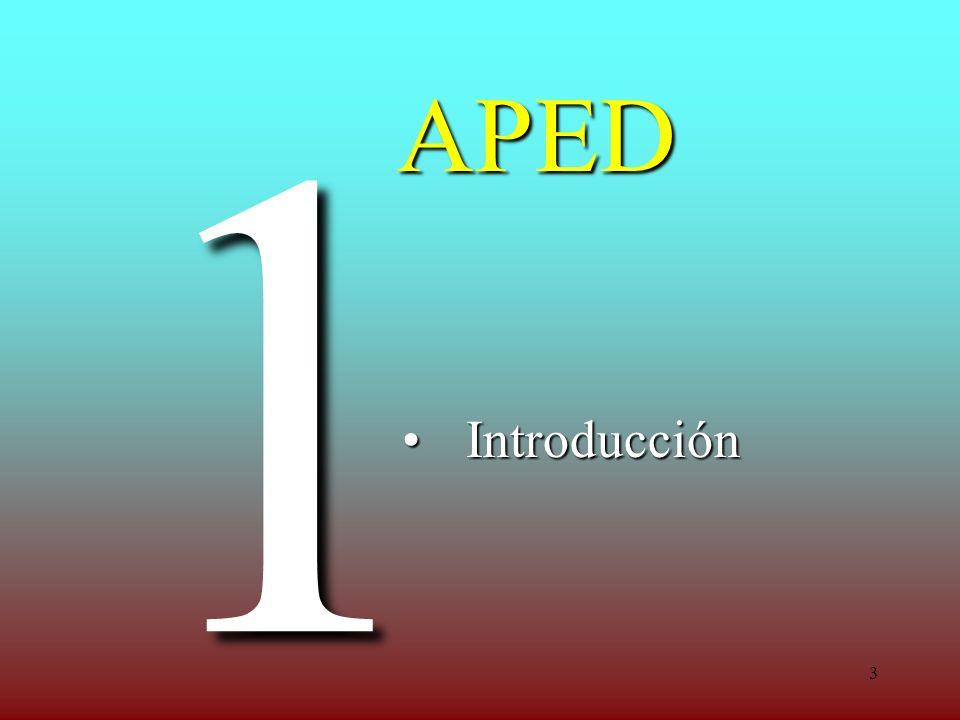 3 APED IntroducciónIntroducción 1