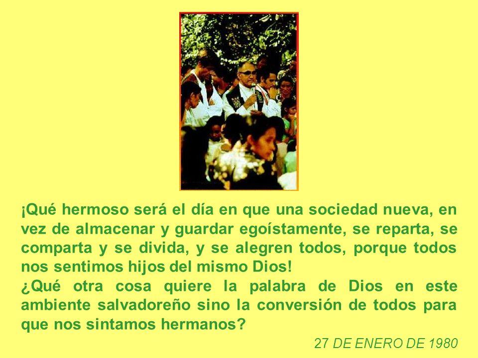 Habría que buscar al niño Jesús, no en las imágenes bonitas de nuestros pesebres. Habría que buscarlo entre los niños desnutridos que se han acostado