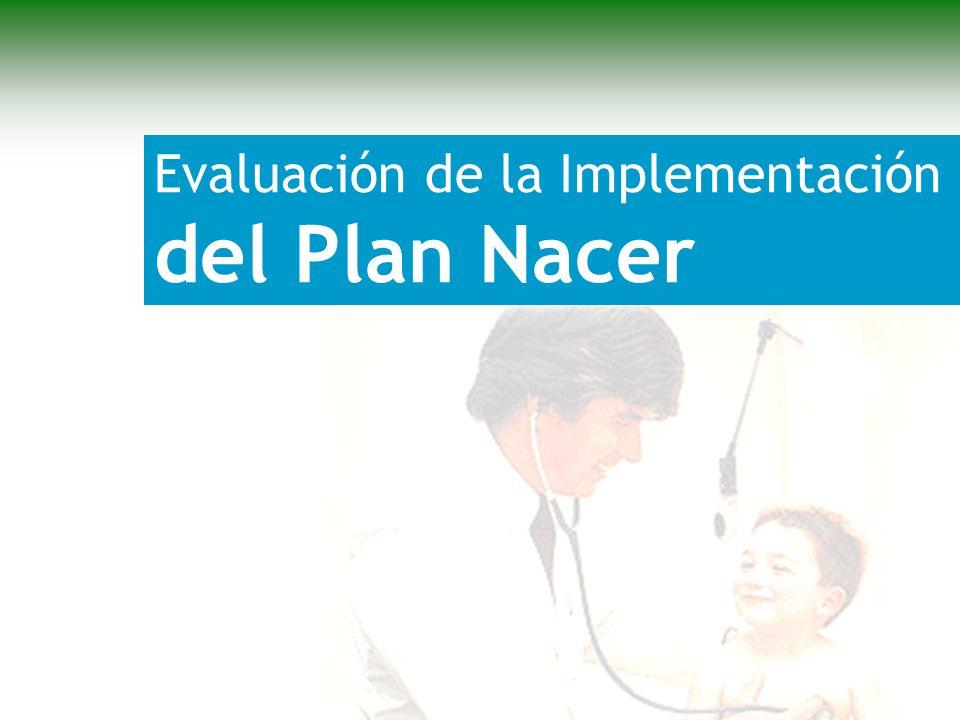 Evaluación de la Implementación del Plan Nacer